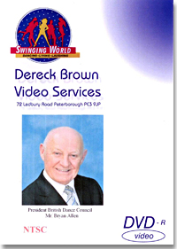 2011 Blackpool World Ballroom Dancing Congress (4DVDs)