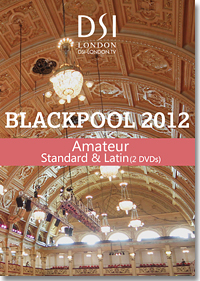 2012 Blackpool Dance Festival DVD - Amateur Standard & Latin (2 DVDs)