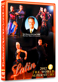 2012 The World Super Stars Dance Festival DVD - Latin