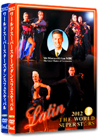 2012 The World Super Stars Dance Festival DVD - Standard & Latin Set