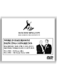 2013 Blackpool World Ballroom Dancing Congress(4 DVDs)