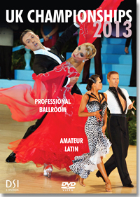 2013 UK Open Dance Championships DVD - Professional Ballroom & Amateur Latin(2 DVDs)