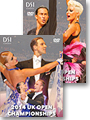 2014 UK Open Dance Championships DVD - Ballroom & Latin Set (4 DVDs)