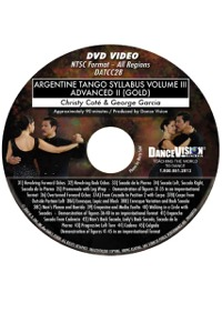 Advanced II (Gold) Argentine Tango Syllabus Volume III DATCC28