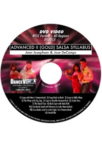 Advanced II (Gold) Salsa Syllabus DSJD53