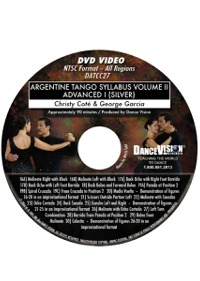 Advanced I (Silver) Argentine Tango Syllabus Volume II DATCC27