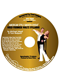 American Style Smooth Gold Viennese Waltz Syllabus DASMM357