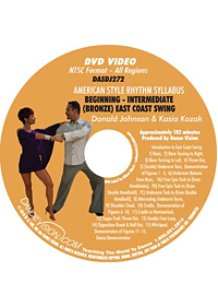 American Style Rhythm Bronze East Coast Swing DASDJ272