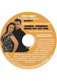 American Style Rhythm Bronze West Coast Swing DASTM276