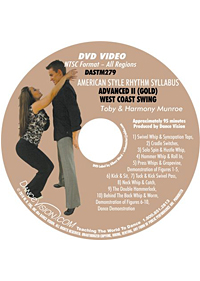 American Style Rhythm Gold West Coast Swing DASTM279