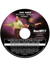 American Style Rhythm Syllabus Advanced II (Gold) Cha Cha DASRM62