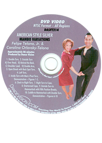 American Style Silver Mambo Variations DASFT214