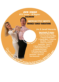 American Style Smooth Bronze Tango Variations DASJM208