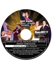 American Style Smooth Open Bronze Tango Variations DASMM06