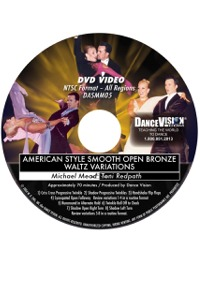 American Style Smooth Open Bronze Waltz Variations DASMM05