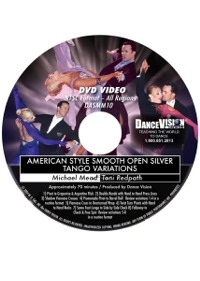 American Style Smooth Open Silver Tango Variations DASMM10