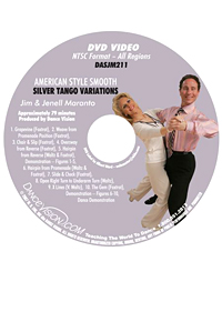 American Style Smooth Silver Tango Variations DASJM211