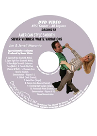 American Style Smooth Silver Viennese Waltz Variations DASJM212