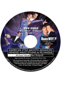 American Style Smooth Viennese Waltz Styling & Technique DASMM16