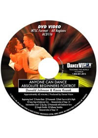 Anyone Can Dance Foxtrot DACD116