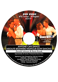 Anyone Can Dance NightClub Slow Dancing DACD 119