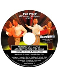 Anyone Can Dance Salsa DACD114