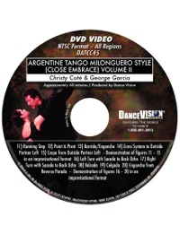 Argentine Tango Milonguero Style (Close Embrace) Volume II DATCC45