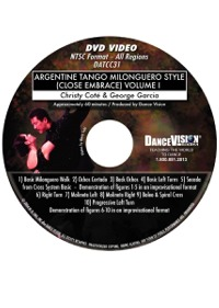 Argentine Tango Milonguero Style (Close Embrace) Volume I DATCC31