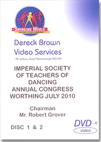 Imperial Society of Teachers of Dancing Congress 2010(3 DVD)