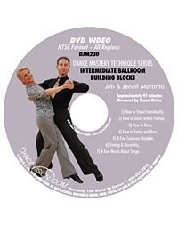 Intermediate Ballroom Building Blocks DJM230