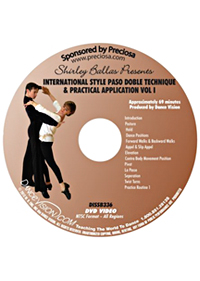 International Style Paso Doble Technique & Practical Application Vol.1 DISSB336