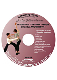 International Style Rumba Technique & Practical Application Vol.1 DISSB335