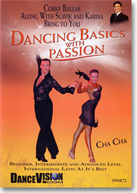 International Style Latin Figures - Cha Cha DISSK72