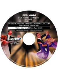 International Style Standard Open Silver Quickstep VT DISVV94