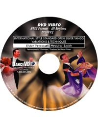 International Style Standard Open Silver Tango Variations & Techniques DISVV92