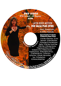 Latin Body Motion for Salsa Plus Spins DJJ06