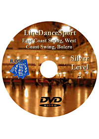 Silver II East Coast Swing, West Coast Swing, Bolero DILDSF16