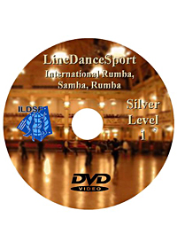 Silver I Line Dancesport International Rumba, American Samba, Rumba DILDSF10