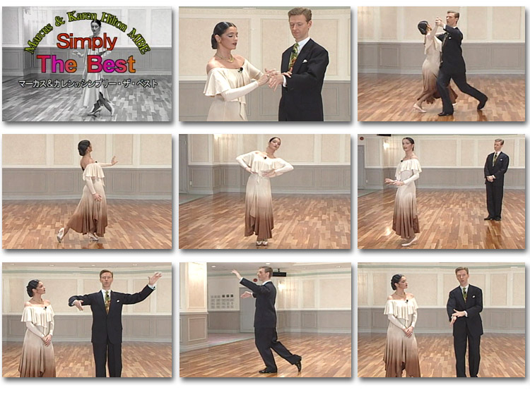 how to dance running right turnin quickstep