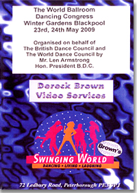 World Ballroom Dancing Congress 2009 (4DVD)