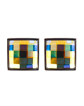 Chessboard Square Cufflinks 4618