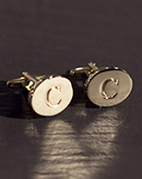 Chrisanne Engraved Cufflinks