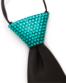 Vito Dance Crystallized Blue Zircon Zip Tie