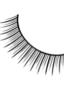 Natural Look - Black Premium Eyelashes 690