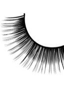 Glamour - Black Deluxe Eyelashes 564