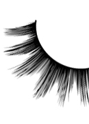 Glamour - Black Deluxe Eyelashes 565