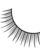 Glamour - Black Deluxe Eyelashes 567