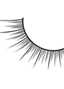Glamour - Black Deluxe Eyelashes 570