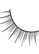 Glamour - Black Deluxe Eyelashes 579