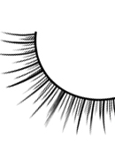 Glamour - Black Deluxe Eyelashes 598